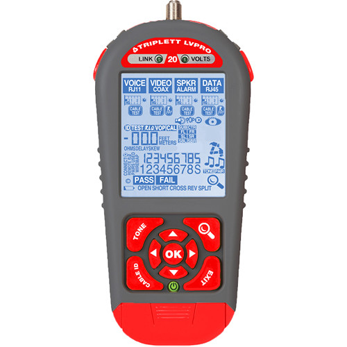 Triplett Low Voltage Pro 20 Cable Tester (7 Applications)