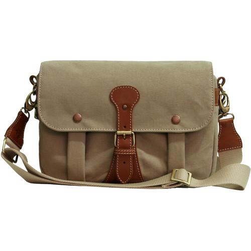 Tritek Myra Camera & Travel Shoulder Bag (Medium, Beige)