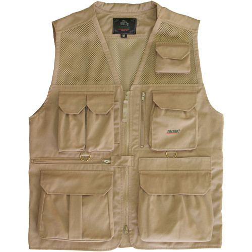 Tritek Seyhun Air Camera & Travel Vest (Large, Desert Beige)
