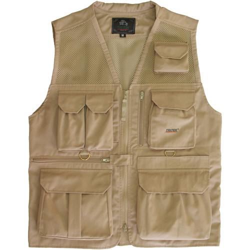 Tritek Seyhun Air Camera & Travel Vest (XX-Large, Desert Beige)