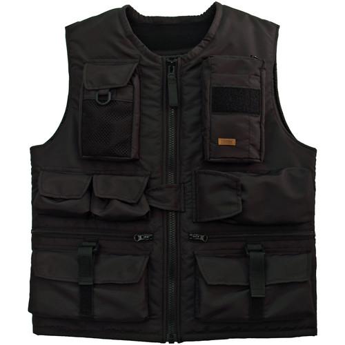 Tritek Myra Camera & Travel Vest (Small, Black-Green)