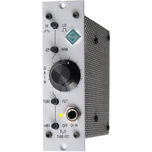 TRITON AUDIO D2O 500 Series Microphone Preamp