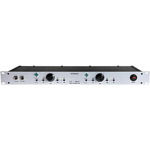 TRITON AUDIO D20 Stereo Rackmountable Microphone Preamp