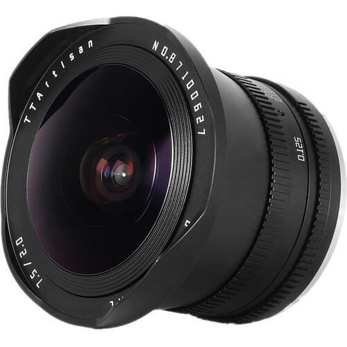 TTArtisan 7.5mm f/2 Fisheye Lens with ND1000 Filter for Canon EOS M