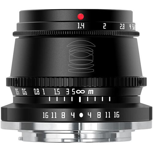 TTArtisan 35mm f/1.4 Lens for Canon EF-M (Black)