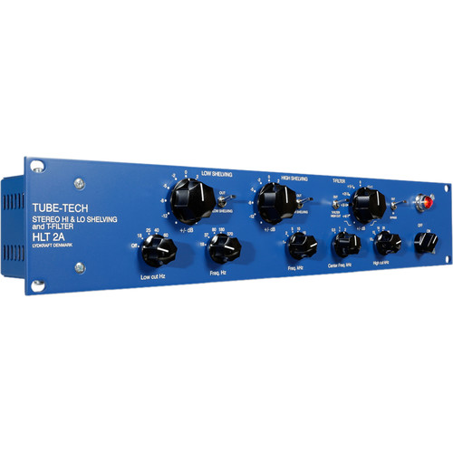 TUBE-TECH HLT2AM Hi & Lo Shelving Analog EQ with T-Filter (Mastering Version)