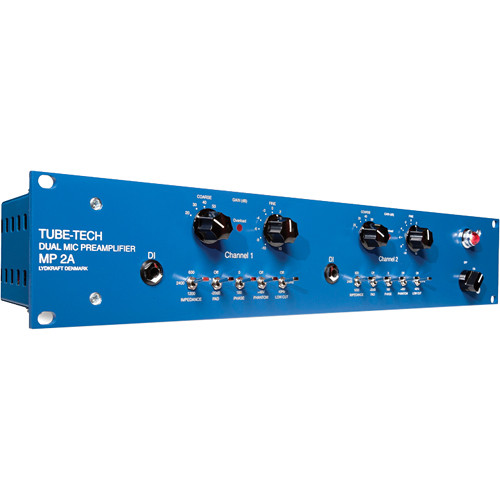 TUBE-TECH MP2A Dual Microphone Preamplifier