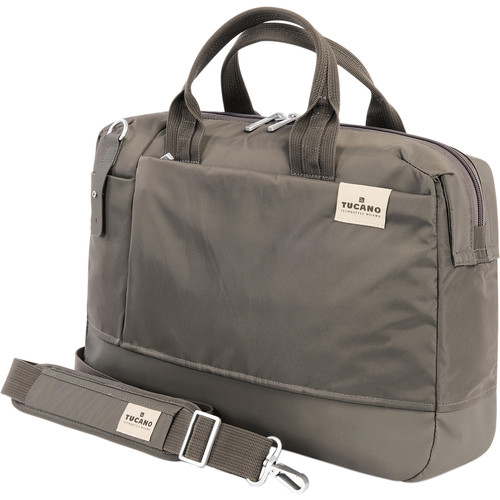 "Tucano Agio 15 Business Bag for 15.6"" Notebook / Ultrabook (Gray)"