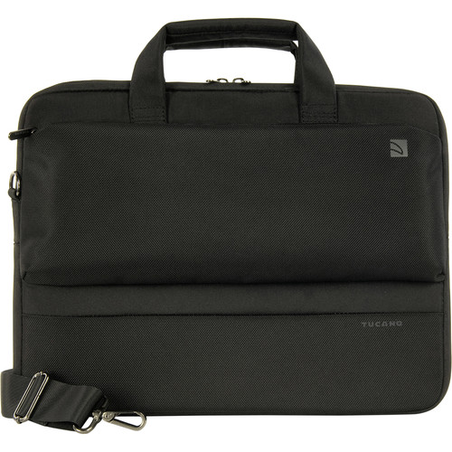 "Tucano Dritta Slim 14 Bag for 15"" MacBook Pro with Retina Display or 13""/14"" Notebook (Black)"