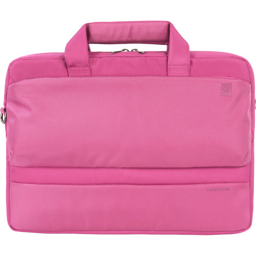 "Tucano Dritta Slim 14 Bag for 15"" MacBook Pro with Retina Display or 13""/14"" Notebook (Fuchsia)"