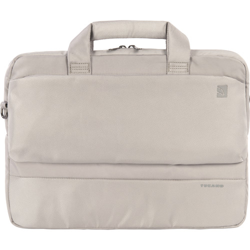 """Tucano Dritta Slim 14 Bag for 15"""" MacBook Pro with Retina Display or 13""""/14"""" Notebook (Silver)"""