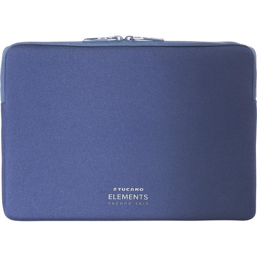 """Tucano Elements Second Skin Case in Neoprene & Nylon for 12"""" MacBook (Blue)"""