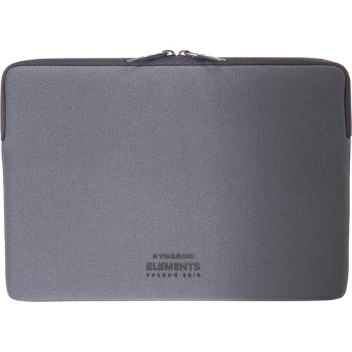 "Tucano Elements Case in Neoprene & Nylon for 12"" MacBook (Gray)"
