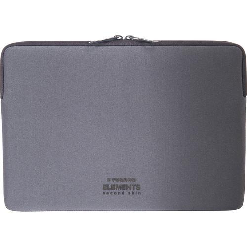 """Tucano Elements Case in Neoprene & Nylon for 12"""" MacBook (Gray)"""