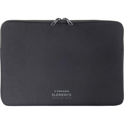 "Tucano Elements Second Skin Case in Neoprene & Nylon for 12"" MacBook (Black)"