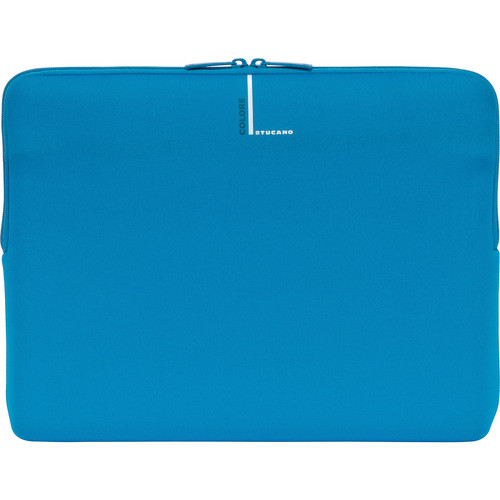 "Tucano Colore Second Skin Sleeve for 13"" & 14"" Notebooks (Blue)"