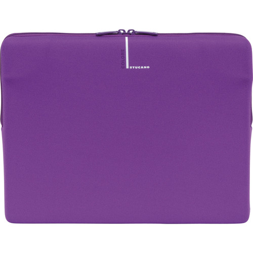 "Tucano Colore Second Skin Sleeve for 13"" & 14"" Notebooks (Purple)"