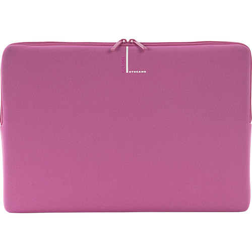 "Tucano Colore Second Skin Sleeve for 15"" & 16"" Notebooks (Pink)"