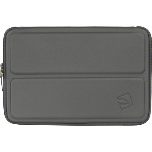 """Tucano Cargo Second Skin Stand-Up Sleeve for 11"""" MacBook Air & Ultrabook (Gray)"""