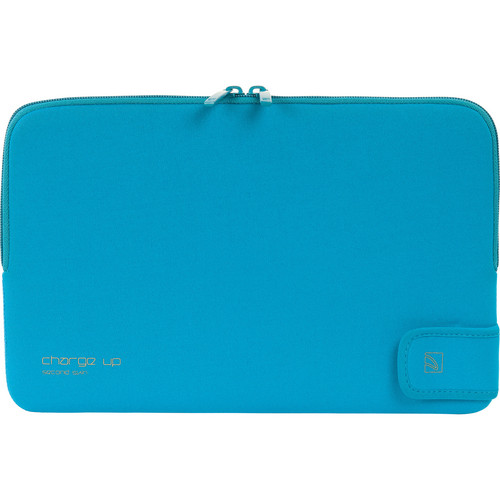 """Tucano Charge_Up Second Skin Neoprene Sleeve for 11"""" MacBook Pro & Air (Blue)"""