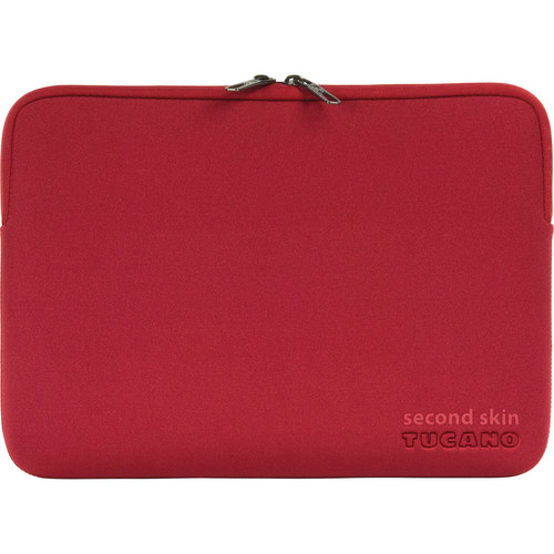 "Tucano Element Second Skin Sleeve for 13"" MacBook Pro & MacBook Pro with Retina Display (Red)"