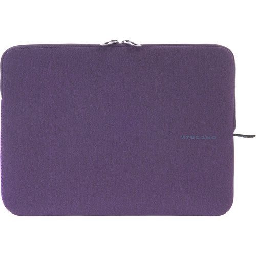 "Tucano Melange Second Skin Neoprene Sleeve for 13.3"" and 14"" Notebooks (Purple)"
