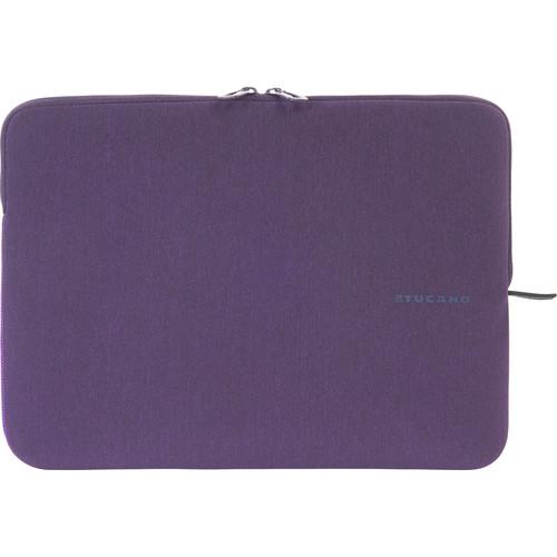"""Tucano Melange Neoprene Sleeve for 13"""" and 14"""" Notebooks (Purple)"""
