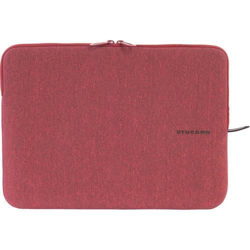 "Tucano Melange Second Skin Neoprene Sleeve for 13.3"" and 14"" Notebooks (Pink/Red)"