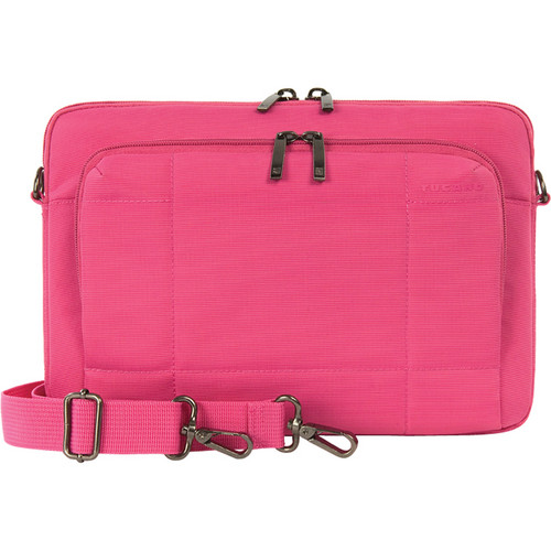 "Tucano One Slim Bag for 11"" Ultrabook & 11"" MacBook Air (Fuchsia)"