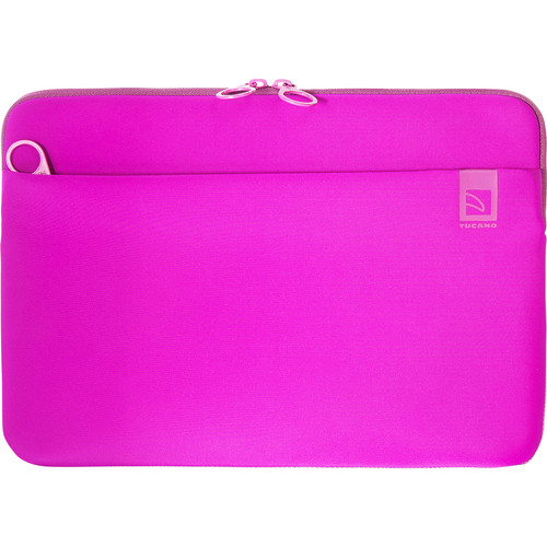 "Tucano Top Second Skin Neoprene Sleeve for MacBook Pro 13"" with Touch Bar (Fuschia)"