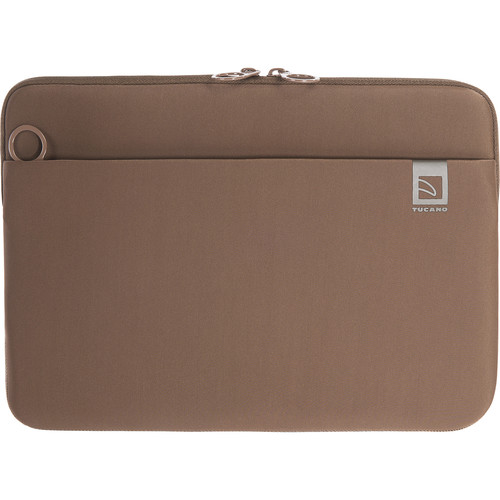 """Tucano Top Neoprene Sleeve for MacBook Pro 13"""" with Touch Bar (Brown)"""