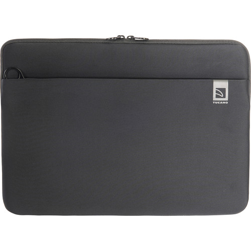 """Tucano Top Neoprene Sleeve for MacBook Pro 15"""" with Touch Bar (Black)"""