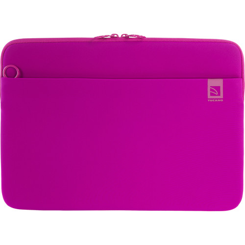 "Tucano Top Second Skin Neoprene Sleeve for MacBook Pro 15"" with Touch Bar (Fuschia)"