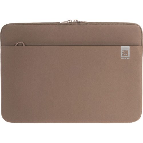 """Tucano Top Neoprene Sleeve for MacBook Pro 15"""" with Touch Bar (Brown)"""