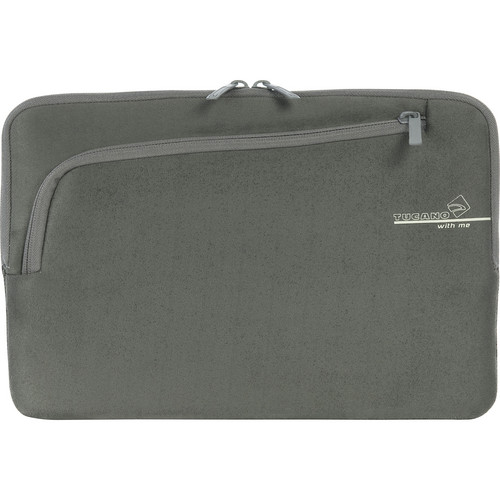 """Tucano Second Skin With Me Microfiber Sleeve For 11"""" MacBook Pro (Grey)"""