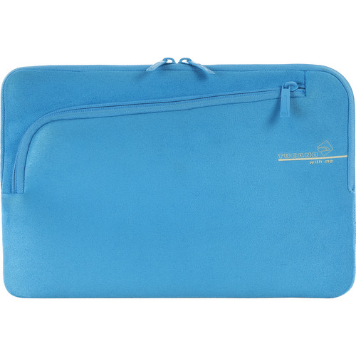 """Tucano Second Skin With Me Microfiber Sleeve For 11"""" MacBook Pro (Blue)"""