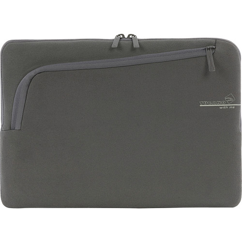 "Tucano Second Skin With Me Microfiber Sleeve For 13"" MacBook Pro (Grey)"