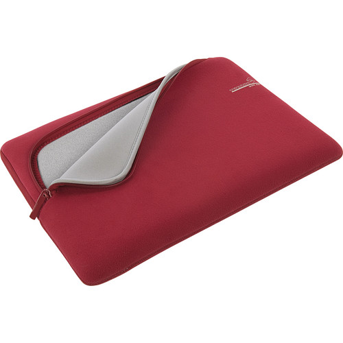 "Tucano Second Skin With Me Microfiber Sleeve For 13"" MacBook Pro (Red)"