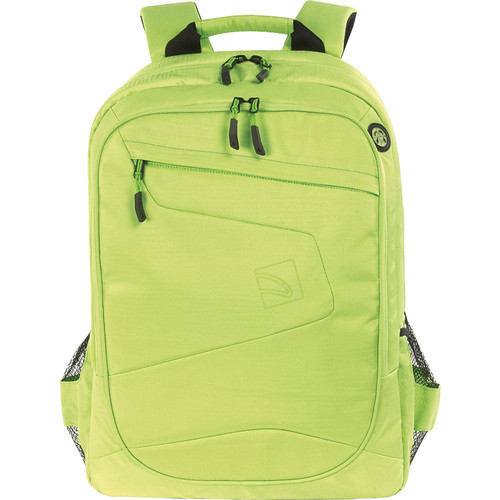 """Tucano Lato Backpack for 15.6"""" & 17"""" Notebooks, 17"""" MacBook Pro, & 15"""" MacBook Pro with Retina Display (Green)"""