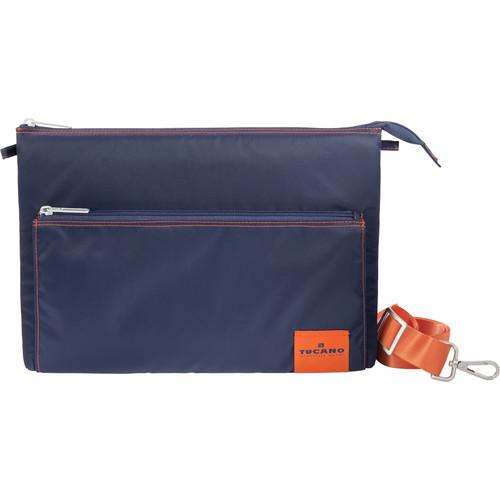 "Tucano Lampo Slim Bag for 13"" MacBook Pro/Ultrabook and iPad Pro (Blue)"