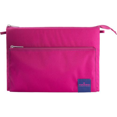 """Tucano Lampo Slim Bag for 13"""" MacBook Pro/Ultrabook and iPad Pro (Fuchsia)"""
