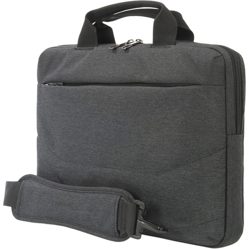 "Tucano Linea 13 Bag for 13"" Notebook/Ultrabook plus iPad Pocket (Black)"