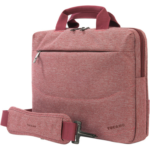 "Tucano Linea 13 Bag for 13"" Notebook/Ultrabook plus iPad Pocket (Red)"