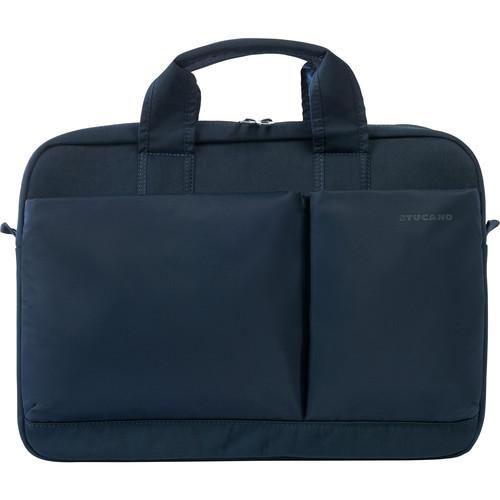 """Tucano Piu Business Bag for 15.6"""" Laptop (Blue)"""