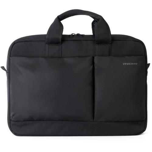 """Tucano Piu Business Bag for 15.6"""" Laptop (Black)"""