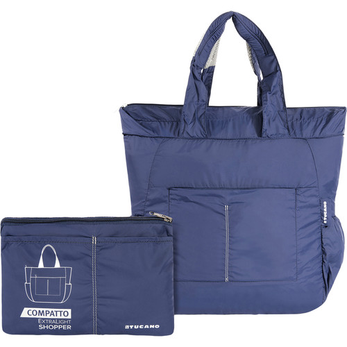 Tucano Extra-Light 20L Water-Resistant Shopping Bag (Blue)