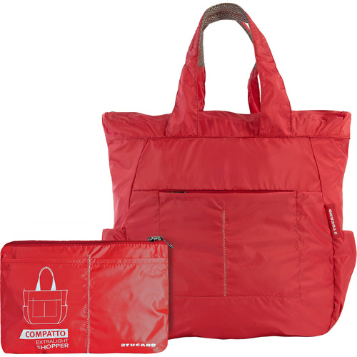 Tucano Extra-Light 20L Water-Resistant Shopping Bag (Red)