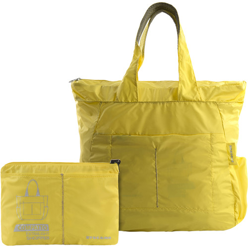 Tucano Extra-Light 20L Water-Resistant Shopping Bag (Yellow)