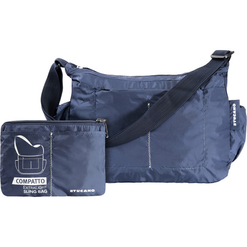 Tucano Compatto XL Water-Resistant 15L Packable Slingbag (Blue)