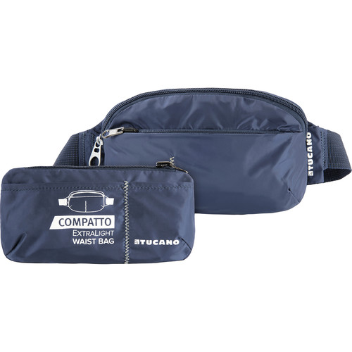 Tucano Extra-Light 1L Water-Resistant Packable Waistbag (Blue)